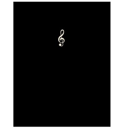 FL-95/SGC/BLレッスンファイル/スモールト音/ブラック【発注単位:2】 の画像