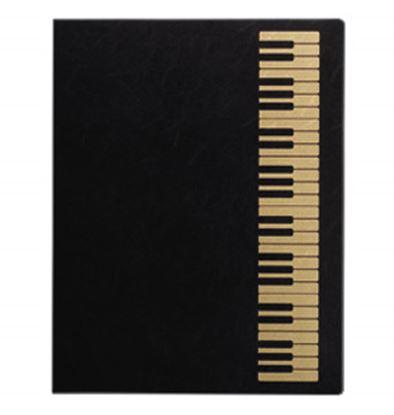 FL-95/KB/BLGレッスンファイル/鍵盤/ブラックゴールド【発注単位:2】 の画像