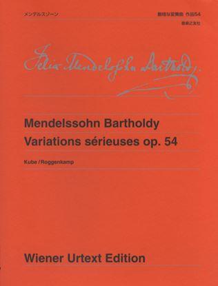 ウィーン原典版278 メンデルスゾーン 厳格な変奏曲 作品54 の画像