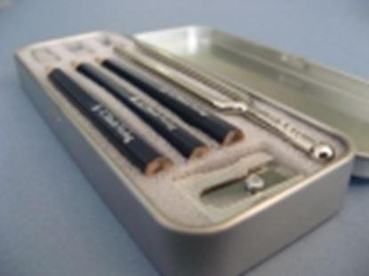 ヘンレ音叉入りペンケースセット の画像