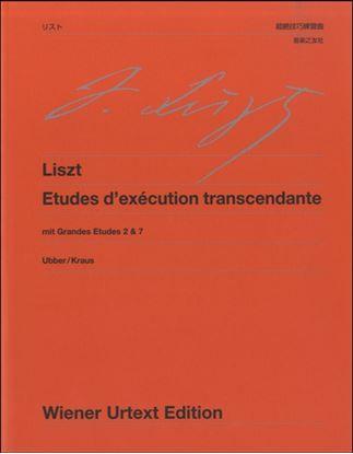 ウィーン原典版 233 リスト 超絶技巧練習曲 大練習曲第2・7 の画像