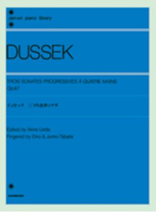 デュセック 3つの連弾ソナタ OP.67 の画像