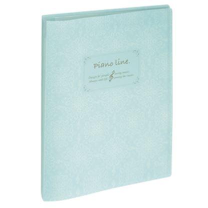 Pianoline クリアブック ブルー の画像