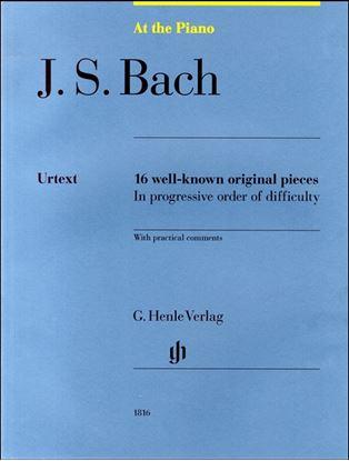 (1816)バッハ バッハの有名な16のピアノ小品 の画像