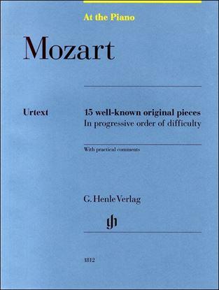 (1812)モーツァルト モーツァルトの有名な15のピアノ小品 の画像