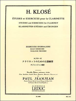 クローゼ/ジャンジャン:クラリネットのための日課練習 ルデュック社ライセンス版 の画像