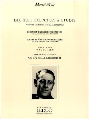 ミュール:ベルビギエによる18の練習曲 ルデュック社ライセンス版 の画像
