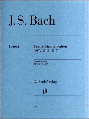 (593)バッハフランス組曲BWV812-817原典版SCHEIDELER編 の画像