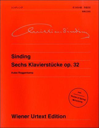 ウィーン原典版(404) シンディング 6つの小品 作品32 の画像