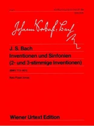 ウィーン原典版042a バッハ インヴェンションとシンフォニア の画像