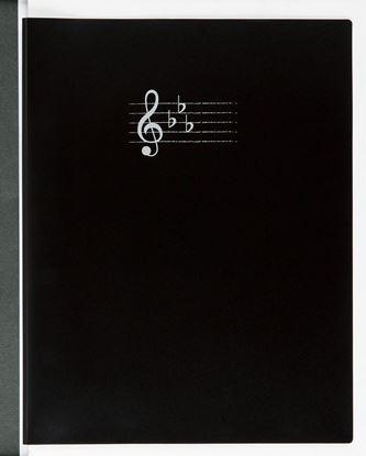 FL-70/BL 楽譜ホルダー/ブラック【発注単位:3冊】 の画像