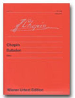 ウィーン原典版100 ショパン バラード集 の画像