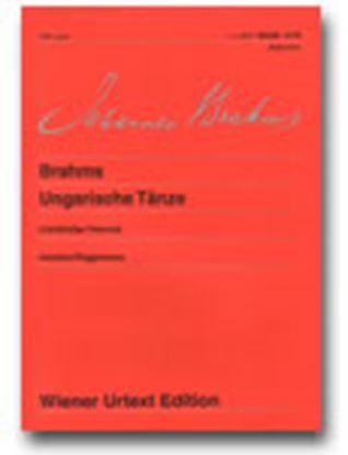 ウィーン原典版181 ブラームス ハンガリー舞曲集 4手用 BRAHMS の画像