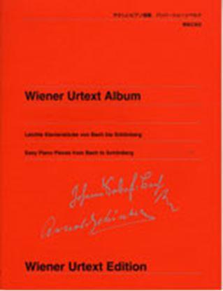 ウィーン原典版251 やさしいピアノ曲集 バッハ~シェーンベルク の画像