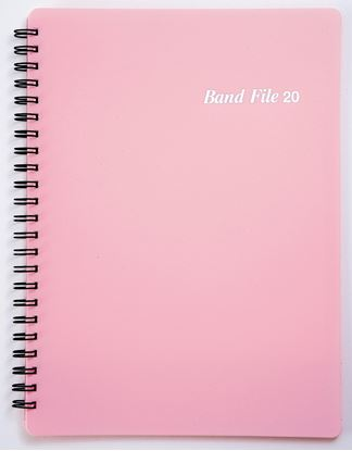 BF1015-02バンドファイル ピンク の画像