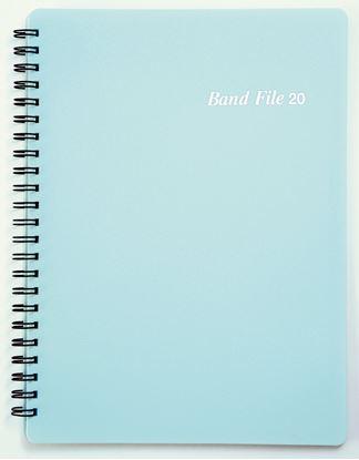 BF1015-03バンドファイル ブルー の画像