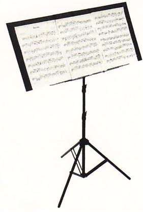 TKBR-02折りたたみ譜面カバー デラックス ブラウン  の画像