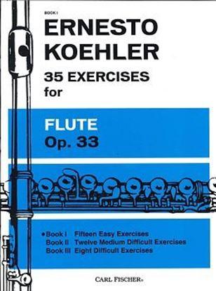 GYW00072250 ケーラー 35の練習曲op.33 第1巻/フルート KOHLER Ernesto Fortschritt im Flotenspiel Op.33 Heft 1  の画像