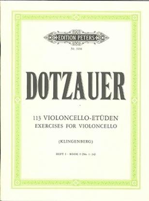 ドッツァウアー : 113の練習曲 第1巻 の画像