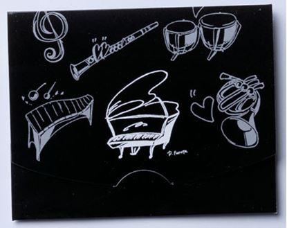 KH-PFBKWHあぶらとり紙 ピアノBKWH の画像