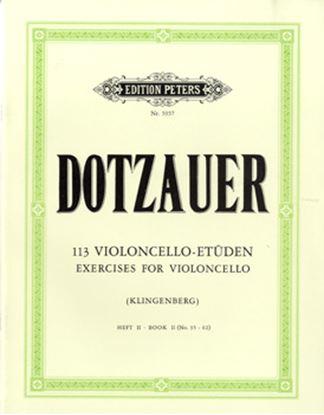 GYS00073196 ドッツァウアー : 113の練習曲 第2巻/DOTZAUER 113 STUDIEN/KLINGENBERG BD.2  弦楽器 の画像