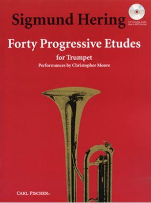 GYW00060663  ヘリングSIGMUND 40の発展的な練習曲 CD付 HERING SIGMUND 40 PROGRESSIVE ETUDES の画像