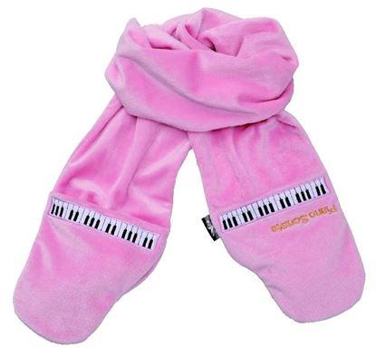 SF-3332-PK ミトンマフラー(ピアノソナタ)ピンク の画像
