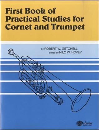 GYW00013979 輸入 ゲッチェル コルネットまたはトランペットのための実践的練習 第1巻 の画像