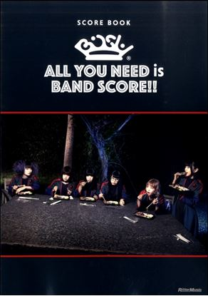 スコア・ブック BiSH/ALL You NEED is BAND SCORE!! の画像