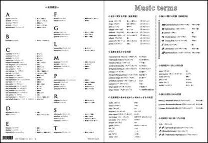 PRSP-21 大きなサイズの音楽用語ファイル の画像