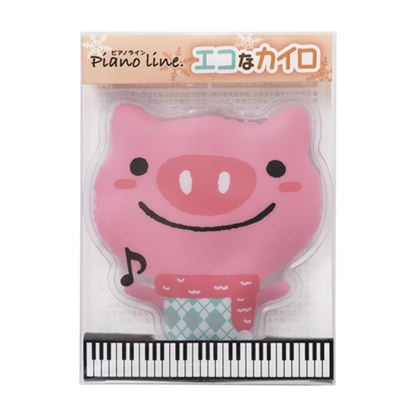 Pianoline エコなカイロ(ぶた) の画像