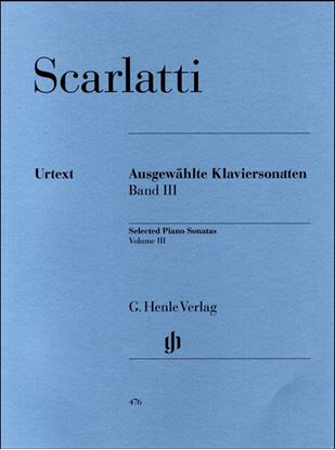 (476)スカルラッティ ソナタ選集第3巻 の画像