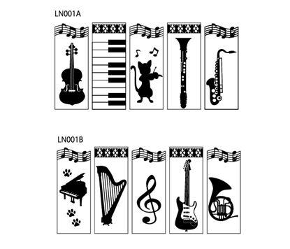 LN001B ミュージックウッドクリップ(B) の画像