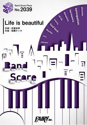 BP2039バンドスコアピース Life is beautiful/BiSH の画像
