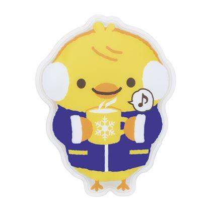 0530101 ピアノライン 防寒アニマルエコなカイロ(ひよこ) の画像