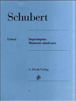 (4)シューベルト 即興曲/楽興の時 の画像
