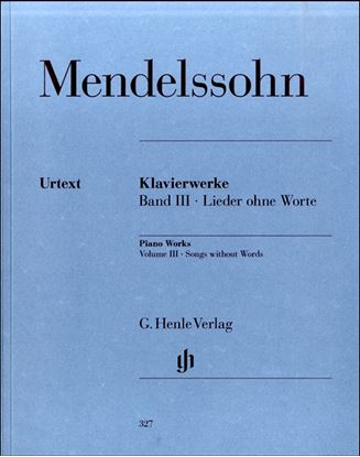 (327)メンデルスゾーン ピアノ作品集3 無言歌集 の画像