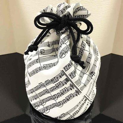 BGE140KC 音楽包 巾着袋 アイネクライネ の画像