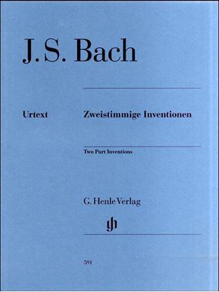 (591)バッハ2声のインヴェンションBWV772-786/原典版/シェイデラー編 の画像