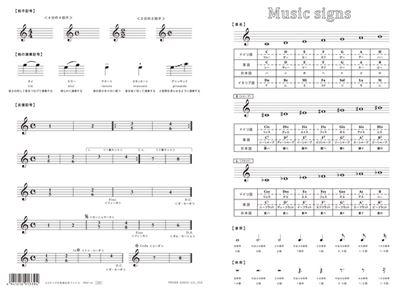 PRSP-34 A5サイズの音楽記号ファイル の画像