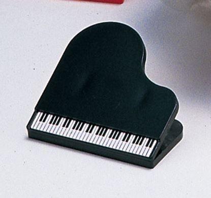 KB5810-03 ペーパークリップ ピアノ 黒 1個 の画像