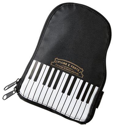 PIANO E FORTE 折りたたみトートバッグ ピアノフォル の画像