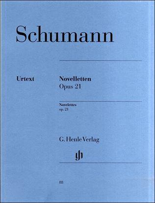 (88)シューマン ノヴェレッテン Op.21/原典版 の画像