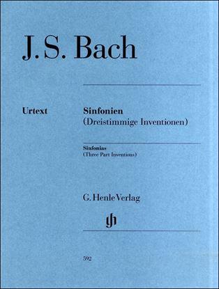 (592)バッハ シンフォニア(三声のインヴェンション) BWV 787-801/原典版 の画像