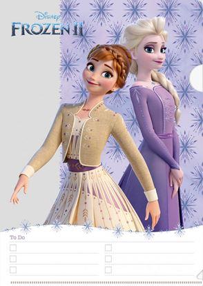 書けるクリアファイル アナと雪の女王2/結晶【発注単位:10枚】 の画像