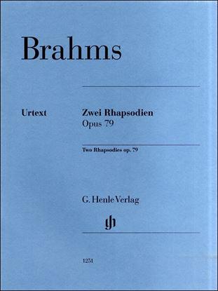 (1251)ブラームス 2つのラプソディOP.79/原典版/ボイド の画像