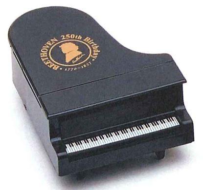 コンサートピアノ型鉛筆削り ベートーヴェン ブラック【発注単位:5個】 の画像
