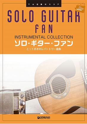 TAB譜付スコア ソロ・ギター・ファンとっておきのレパートリー曲集 の画像