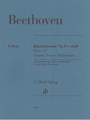 (1348)ベートーヴェン ピアノソナタ第8番 ハ短調 Op13 悲愴/原典版/Gertsch & ペライア編/ペライア運指 の画像