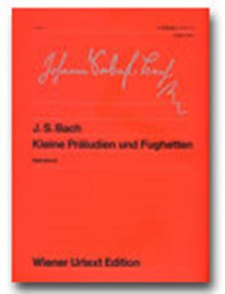 ウィーン原典版041 バッハ 小前奏曲とフゲッタ の画像